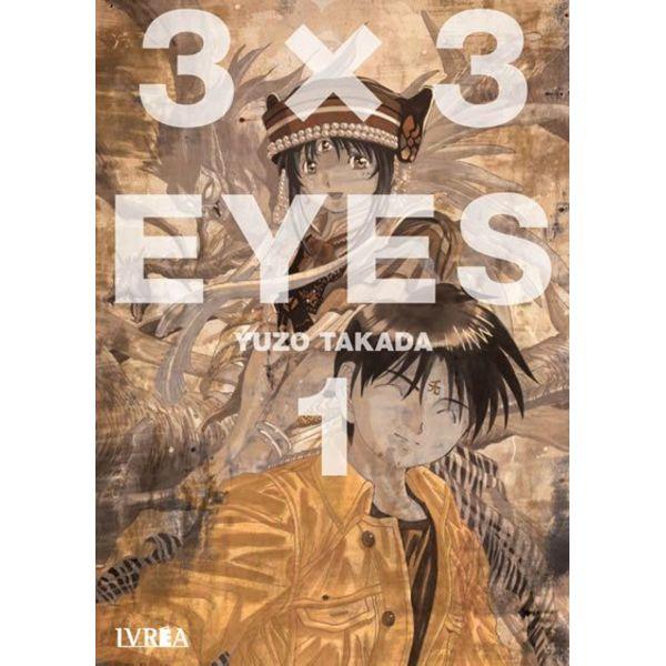 3 X 3 Eyes #01 Manga Oficial Ivrea