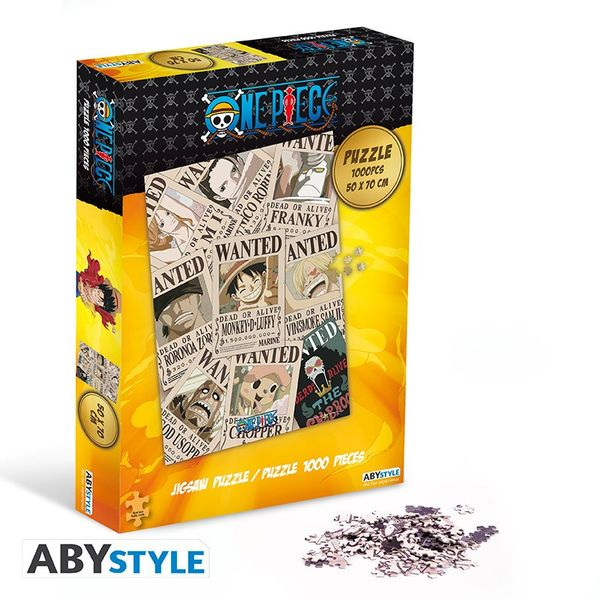 Poster Wanted Puzzle One Piece 1000 Pieces