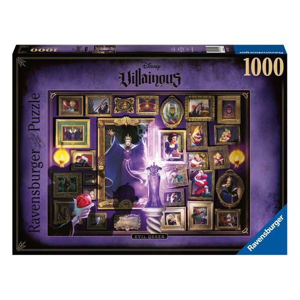 Puzzle 1000 Pieces Evil Queen Snow White Disney Villainous