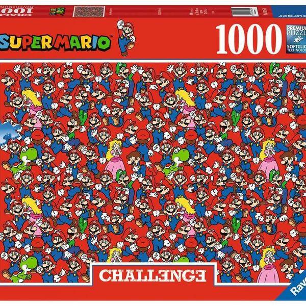 Super Mario Bros Challenge Puzzle 1000 Pieces