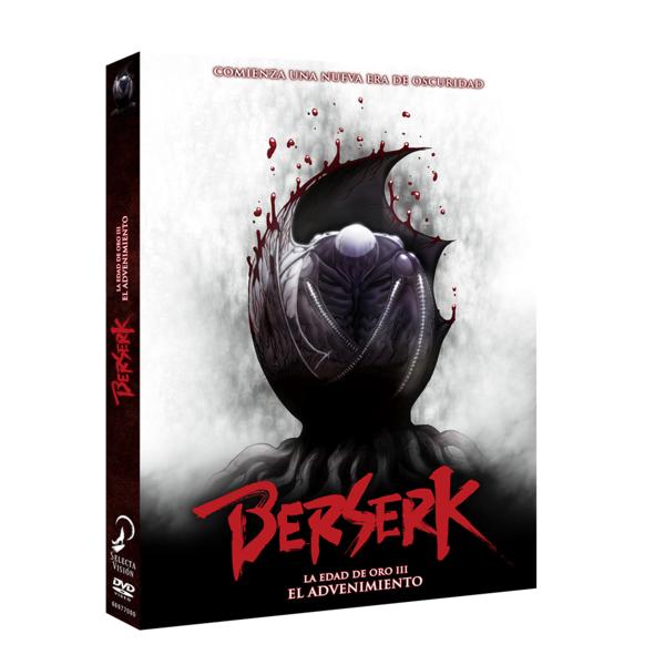 Berserk: La Edad De Oro III - El Advenimiento DVD