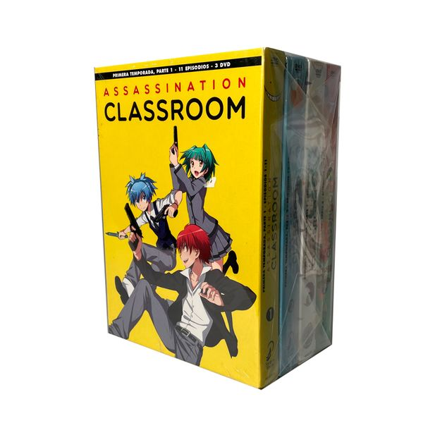 Assassination Classroom Season 1 and 2 DVD