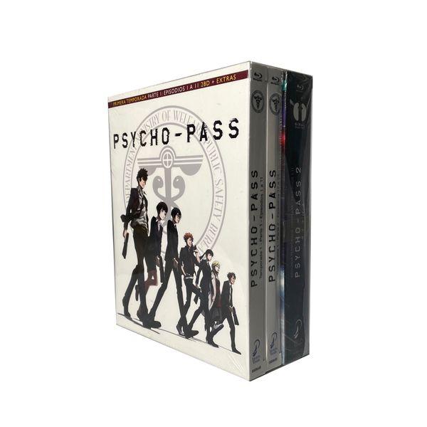 Psycho Pass Temporada 1 y 2 Bluray