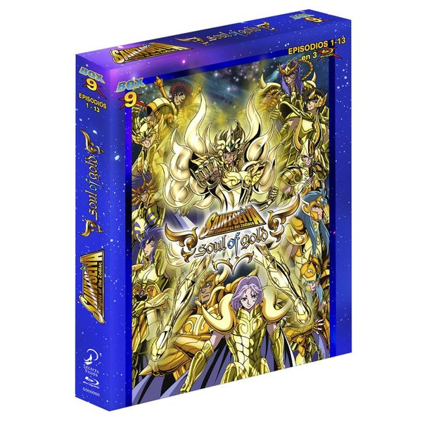 Saint Seiya Los Caballeros Del Zodiaco Box 9 Soul of Gold  Bluray