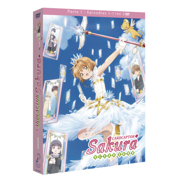 Part 1 Card Captor Sakura Clear Card DVD