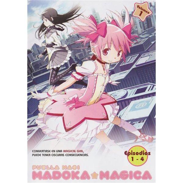 Puella Magi Madoka Magica Volumen 1 DVD