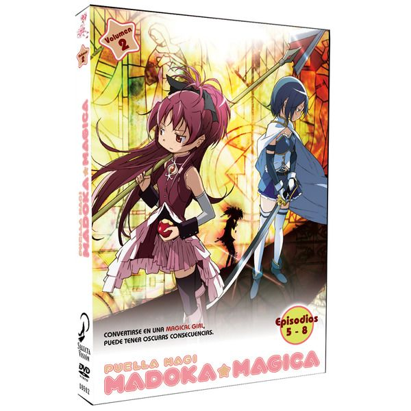 DVD Puella Magi Madoka Magica Volumen 2