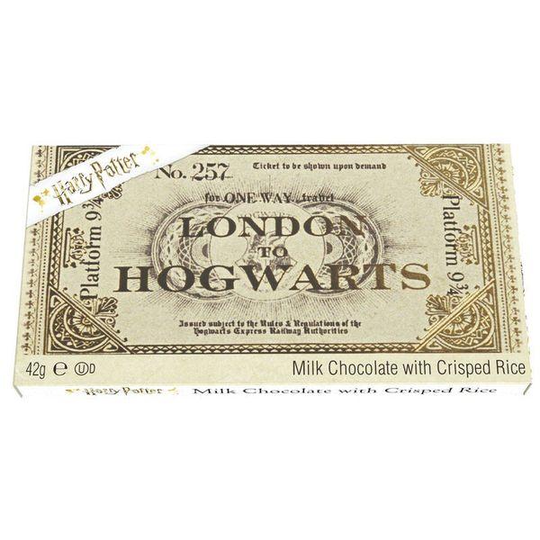 Chocolate Bar Ticket Hogwarts Express Harry Potter