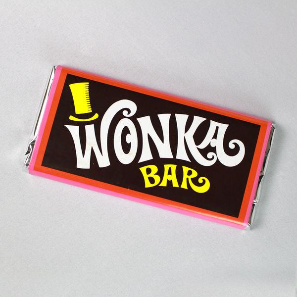 Wonka Bar Milk Chocolate 200gr Charlie And The Chocolate Factory