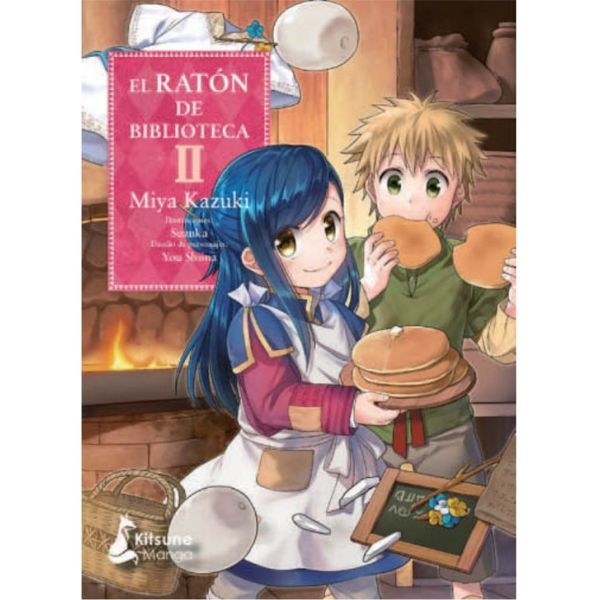 El Raton de Biblioteca #02 Manga Oficial Kitsune Manga
