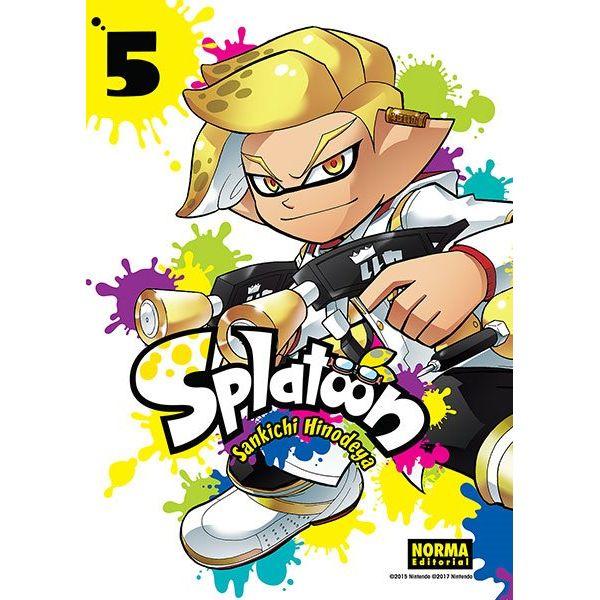 Splatoon #05 Manga Oficial Norma Editorial