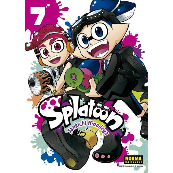 Splatoon #07 Manga Oficial Norma Editorial