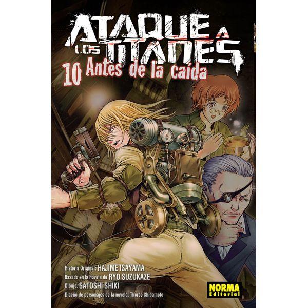 Ataque a los Titanes: Antes de la Caída #10 (spanish) Manga Oficial Norma Editorial