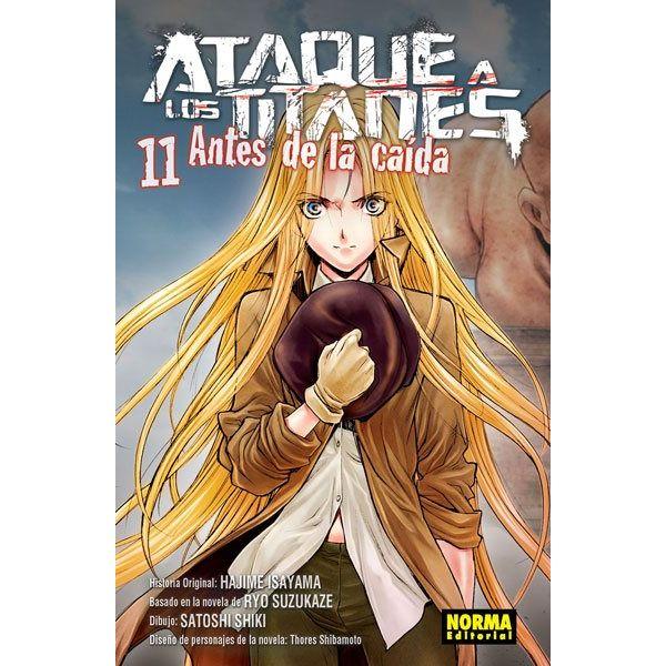 Ataque a los Titanes: Antes de la Caída #11 (spanish)