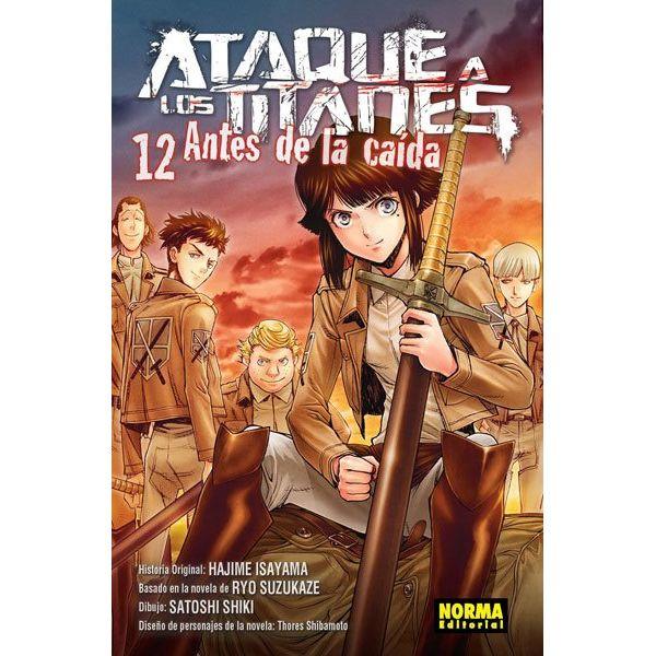Ataque a los Titanes: Antes de la Caída #12 (spanish) Manga Oficial Norma Editorial