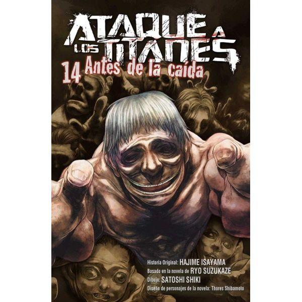 Ataque a los Titanes: Antes de la Caída #14 Manga Oficial Norma Editorial