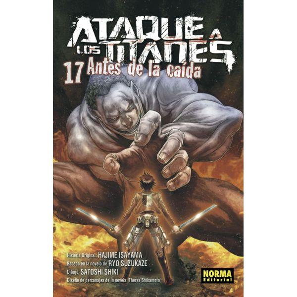 Ataque a los Titanes: Antes de la Caída #17 Manga Oficial Norma Editorial