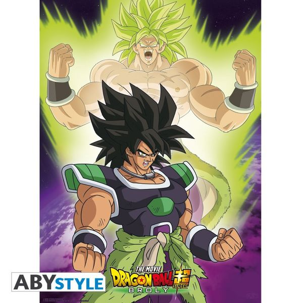 Poster Broly Dragon Ball Super 52x38cm