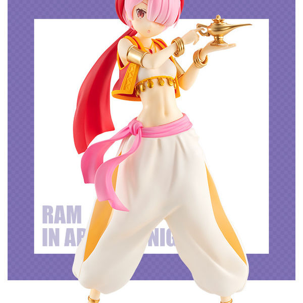 Ram in Arabian Night Figure Re:Zero Life In A Different World