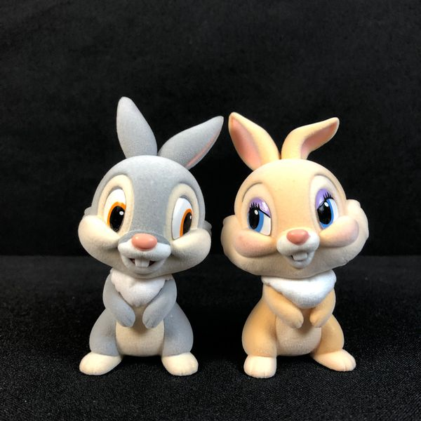 Figura Tambor y Sra. Bunny Fluffy Puffy Disney Characters