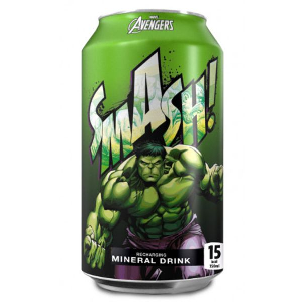 Bebida Soda XXL Hulk Smash! Marvel Comics