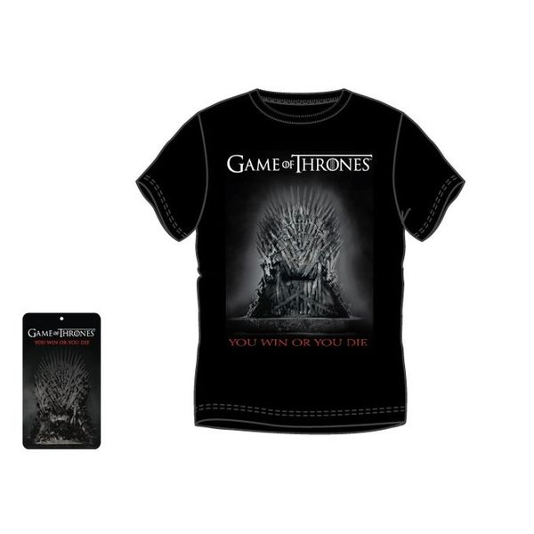 Camiseta You Win Or You Die Juego De Tronos