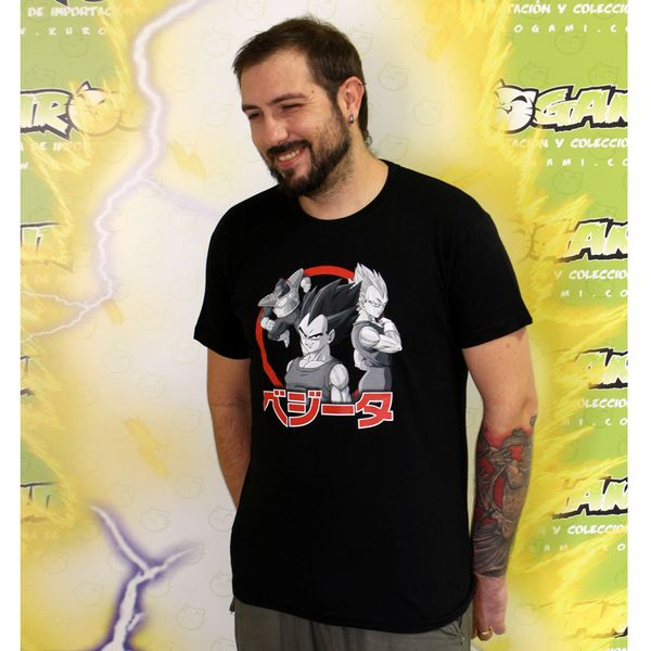 Camiseta Vegeta Dragon Ball Z