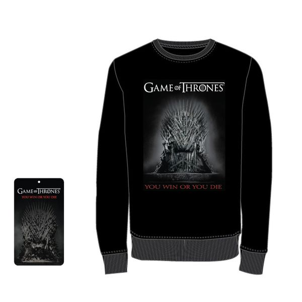 Sudadera You Win Or You Die Juego de Tronos