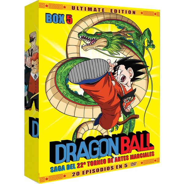 Dragon Ball Ultimate Edition Box 5 DVD