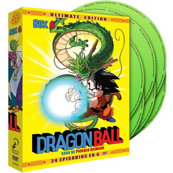 Ultimate Edition Dragon Ball Box 6 DVD