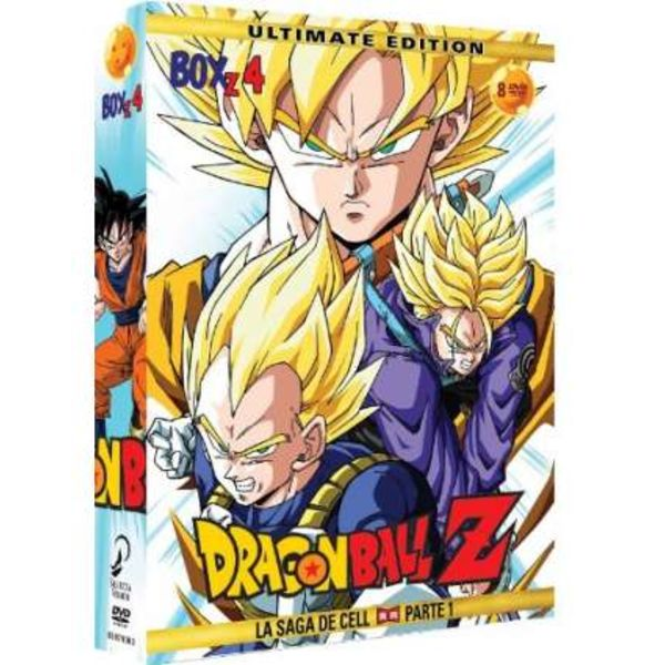 Ultimate Edition Dragon Ball Z Box 4 DVD