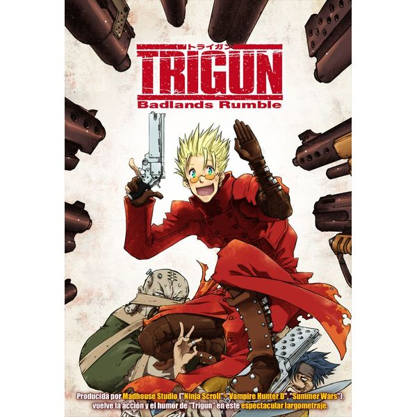 Trigun Badlands Rumble DVD