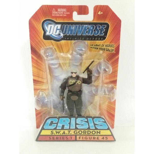 Figura Dc Comics - S.W.A.T. Gordon - Inifinite Crisis Heroes