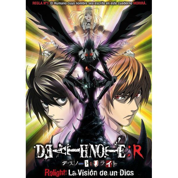 Death Note Relight: La Visión De Un Dios DVD