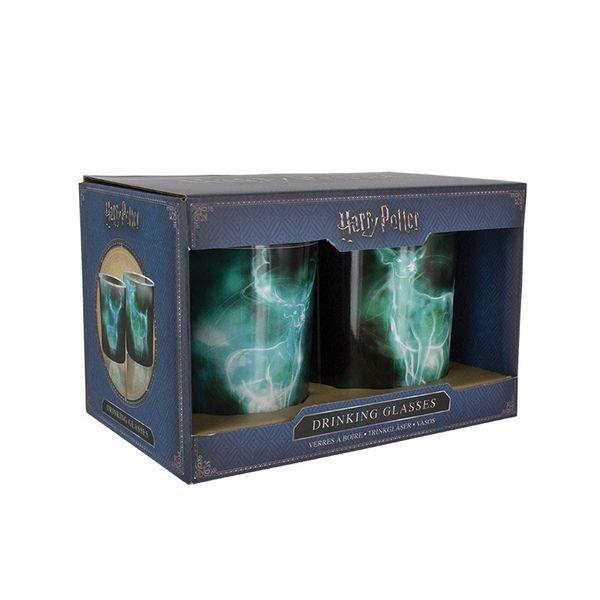 Set Glasses Patronus lily and Snape Harry Potter