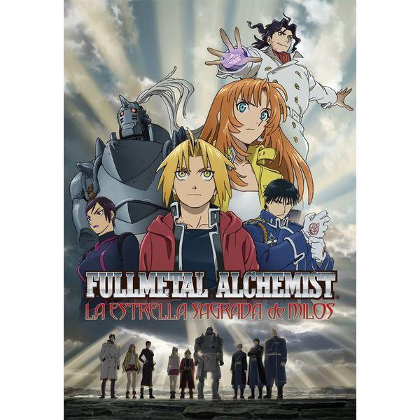 Fullmetal Alchemist: La Estrella Sagrada De Milos DVD