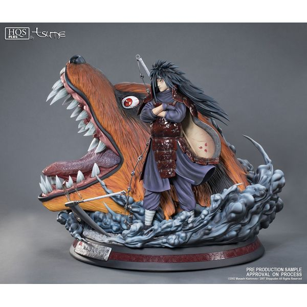 Estatua Madara Uchiha HQS+ Naruto Shippuden