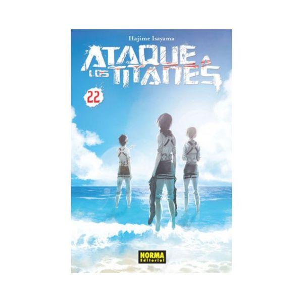 Ataque a los Titanes #22 (spanish) Manga Oficial Norma Editorial