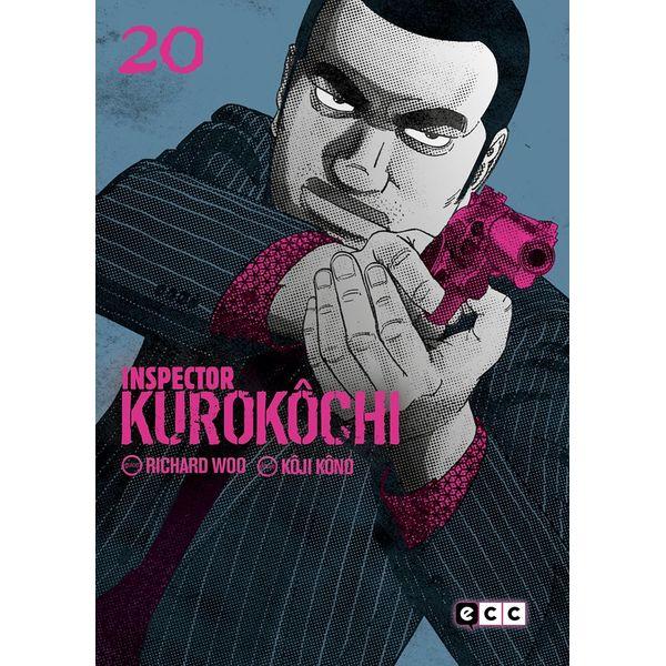 Inspector Kurokochi #20 (Spanish) Manga Oficial ECC Ediciones