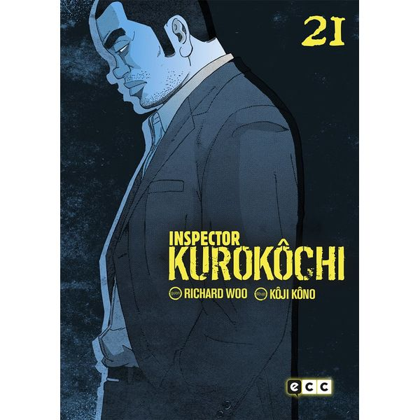 Inspector Kurokochi #21 (Spanish) Manga Oficial ECC Ediciones
