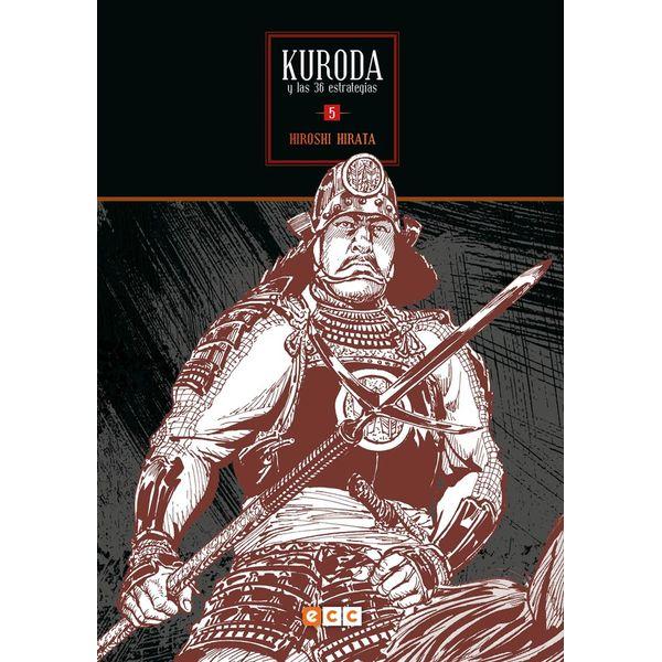 Kuroda y las 36 Estrategias #05 (Spanish) Manga Oficial ECC Ediciones
