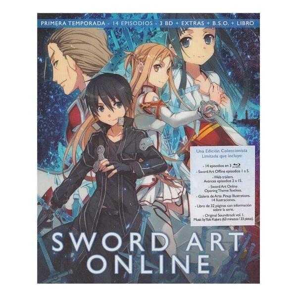 Sword Art Online Primera Temporada Parte 1 Edición Coleccionista Bluray