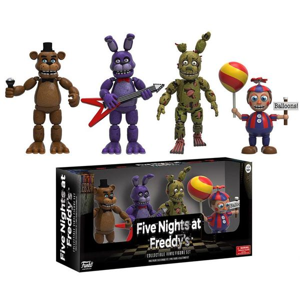 Figuras Five Nights At Freddy's Set 2