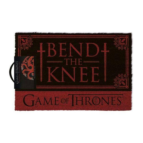 Doormat Bend The Knee Game of Thrones