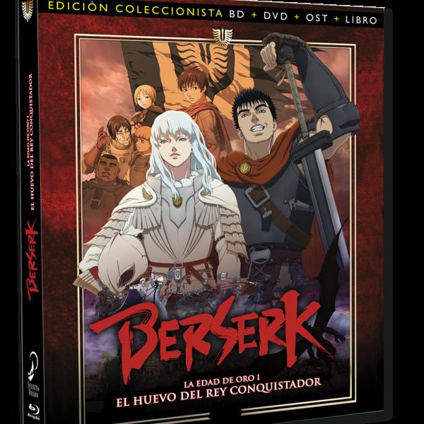 Berserk: La Edad De Oro I - El Huevo Del Rey Conquistador Edición Coleccionista Bluray