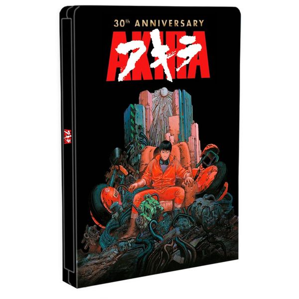 Akira Edición 30 Aniversario Bluray Caja Metálica