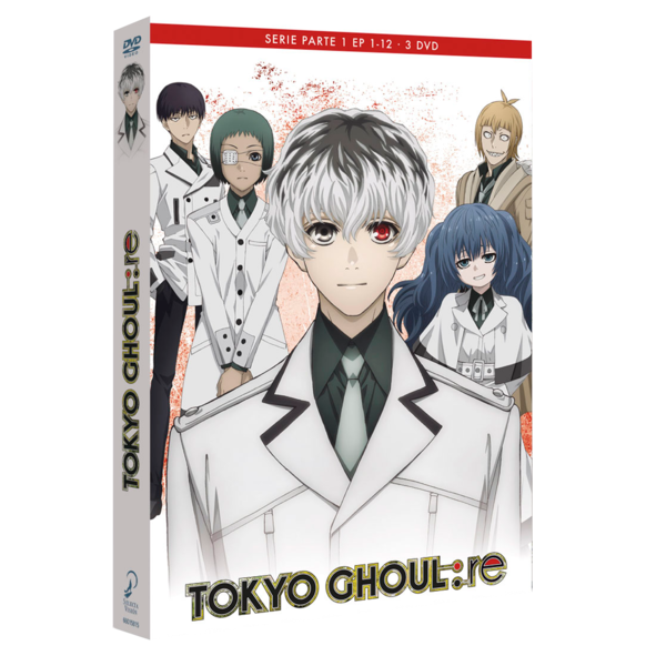 Tokyo Ghoul: Re Parte 1 DVD