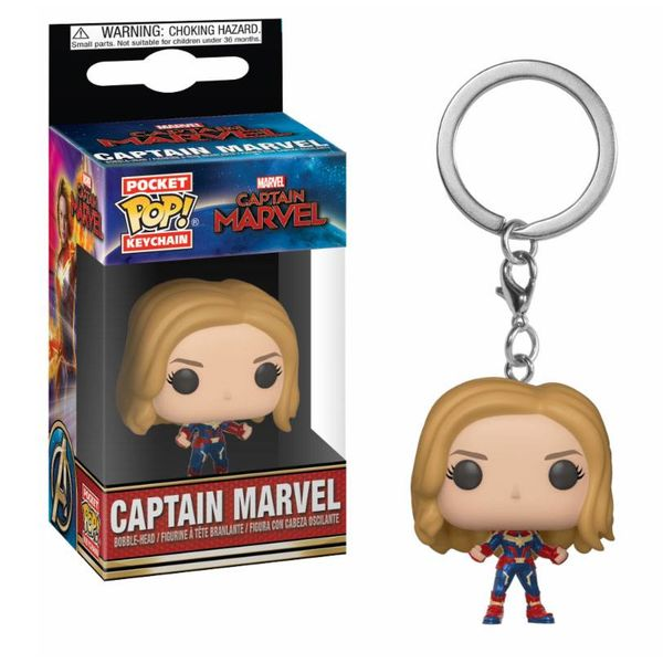 Llavero Capitana Marvel POP!
