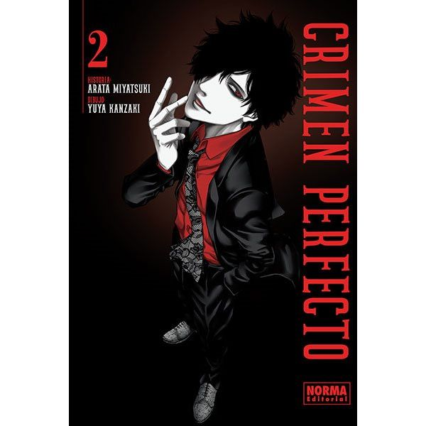 Crimen Perfecto #02 Manga Oficial Norma Editorial (spanish)