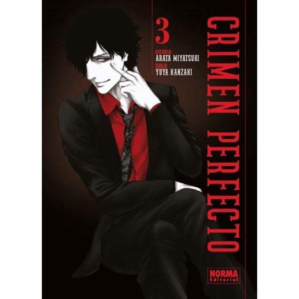 Crimen Perfecto #03 Manga Oficial Norma Editorial